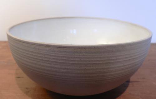Saladier émail intérieur blanc - h 10cm - ø 21,5-50€
